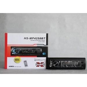 Автомагнитола 1DIN HS MP-4258 (съемная панель)