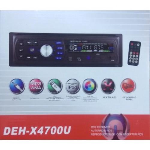 Автомагнитола DEH-X4700U Еврофишка радиатор
