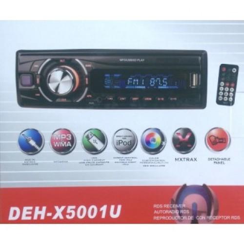Автомагнитола DEH-X5001U Еврофишка радиатор