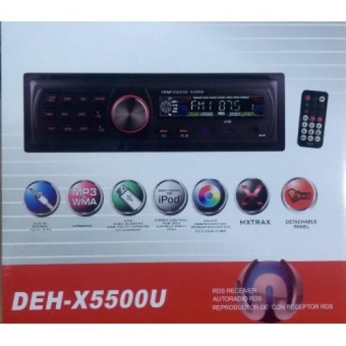 Автомагнитола DEH-X5500U Еврофишка радиатор