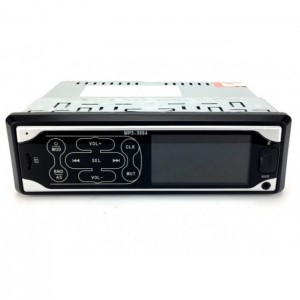 Автомагнітола MP3 3884 ISO 1DIN сенсорний дисплей