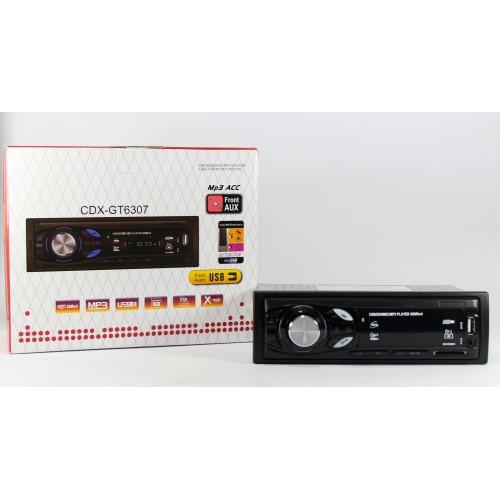 Автомагнитола MP3 CDX-GT 6307 с евро разъемом и кулером