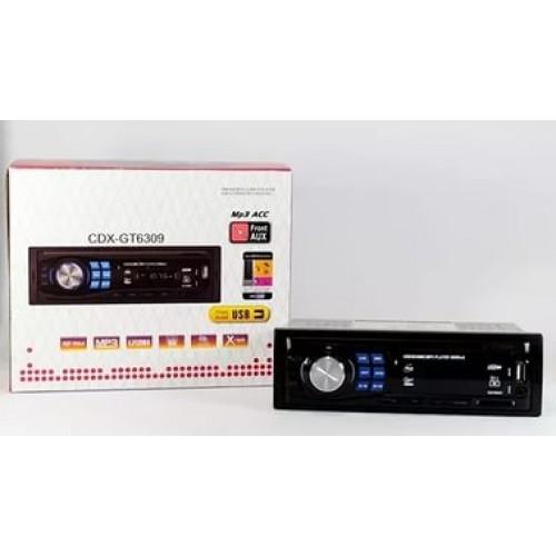 Автомагнитола MP3 CDX-GT 6309 с евро разъемом и кулером
