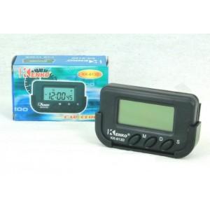 Автомобильные часы Kenko KK-613D с секундами