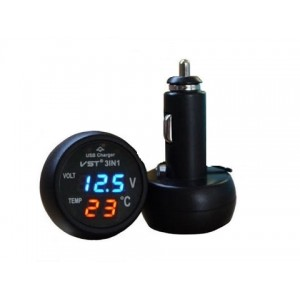 Автомобильные часы VST 706-1