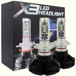 Автолампа LED X3 H3