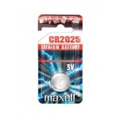 Батарейка Alkaline MAXELL (Hitachi) Blister*1 CR2025