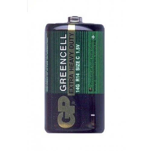 Батарейка GP Greencell 14G/R14