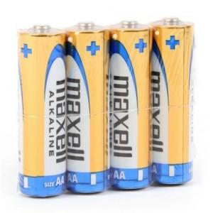 Батарейка MAXELL (Hitachi) Pack*4 Alkaline LR06/AA (цена за упаковку 4 шт.)