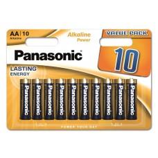 Батарейка Panasonic ALKALINE POWER AA BLI 10