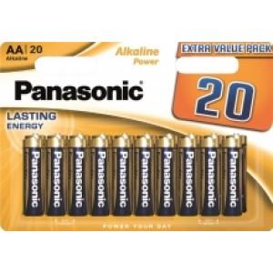 Батарейка Panasonic ALKALINE POWER AA BLI 20