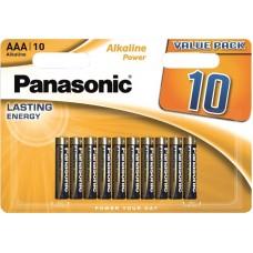 Батарейка Panasonic ALKALINE POWER AAA BLI 10