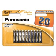 Батарейка Panasonic ALKALINE POWER AAA BLI 20