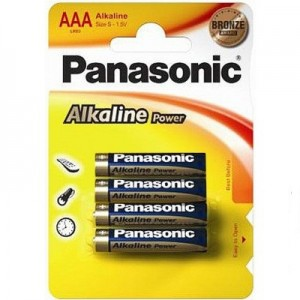 Батарейка Panasonic ALKALINE POWER AAA BLI 4