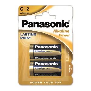 Батарейка Panasonic ALKALINE POWER C BLI 2
