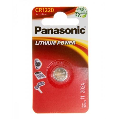 Батарейка Panasonic CR 1220 BLI 1 LITHIUM