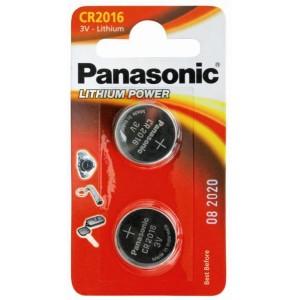 Батарейка Panasonic CR 2016 BLI 2 LITHIUM