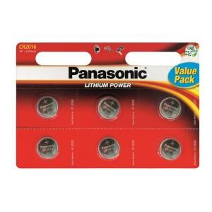 Батарейка Panasonic CR 2016 BLI 6 LITHIUM