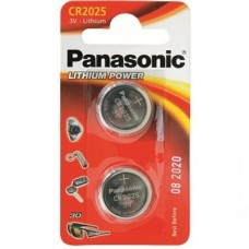Батарейка Panasonic CR 2025 BLI 2 LITHIUM