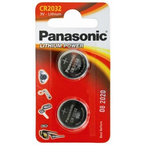 Батарейка Panasonic CR 2032 BLI 2 LITHIUM