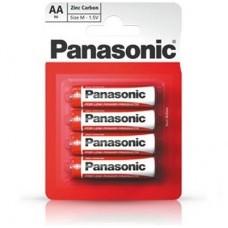Батарейка Panasonic RED ZINK R6 BLI 4 ZINK-CARBON