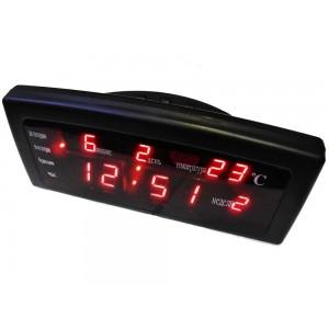 Електронний настільний годинник CX-868 Red
