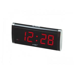 Електронний настільний годинник VST-730 (730-1 Red)