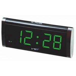 Електронний настільний годинник VST-730 (730-2 Green)