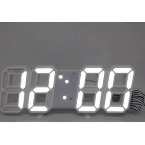 Электронные часы настольные LY 1089 белые