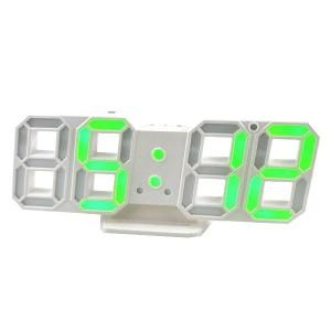 Электронные часы настольные LY 1089 зеленые