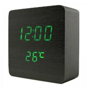Настольные часы VST 872 зеленые