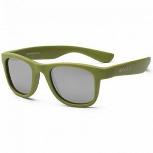 Детские солнцезащитные очки Koolsun цвета хаки серии Wave 3+