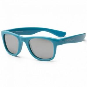 Детские солнцезащитные очки Koolsun голубые серии Wave 3+