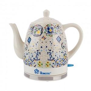 Електричний чайник дисковий 1.5L DOMOTEC MS-5053 CERAMIC (замовлення від 8 шт)