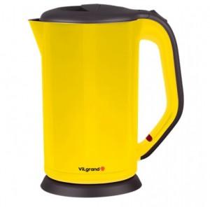 Чайник електричний нержавейка ViLgrand VS303, цільна колба (1.8 л; 2 кВт)