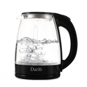Чайник електричний DARIO DR1802 black, скло (1,8 л; 1,8 кВт)
