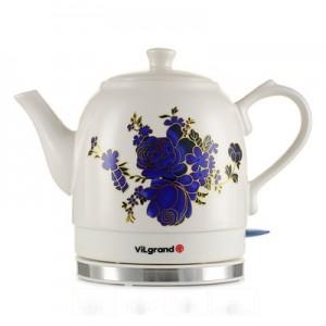 Чайник електричний кераміка ViLgrand VC515R (1,5 л; термічній малюнок; 1 кВт)