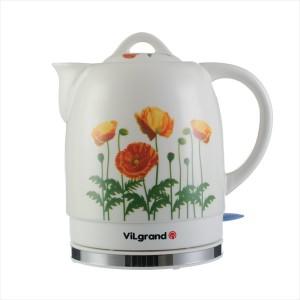 Чайник електричний кераміка ViLgrand VC917PN (1,7 л; 1,2 кВт)