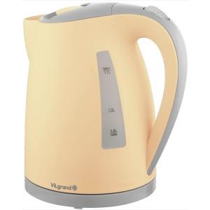Чайник електричний ViLgrand VL1722PK (пластик, 1,7л; 2кВт)