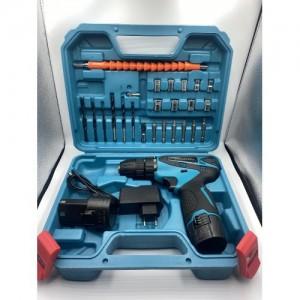 Набор инструментов с шуруповертом 12 v