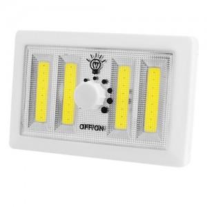 Аварийный светильник F028-4COB, светорегулятор, магнит, липучки