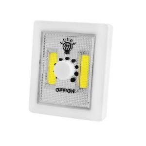 Аварийный светильник 1702A-2COB, светорегулятор, магнит, липучки