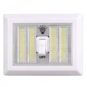 Аварійний світильник BL 604 з тумблером COB (Ціна за упаковку 12 шт)