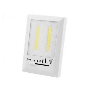 Аварийный светильник HB322/1708-2COB, магнит, липучки