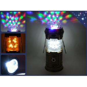 Фонарик - лампа 6899 (usb / disco кемпинг)