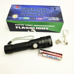 Фонарик BL 611-P50 18650 battery POLICE