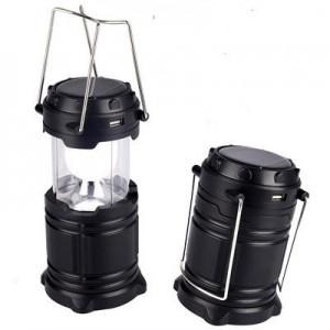 Кемпинговый фонарик фонарь +Power Bank + солнечная панель Bailong G85