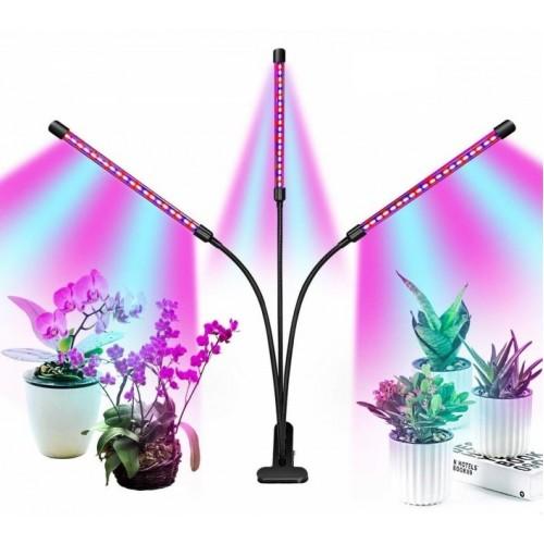Лампа для растений фитолампа с таймером LED-свет
