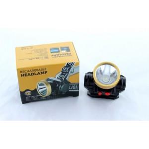 Налобный фонарь 0509-1 аккумуляторный