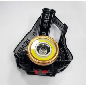Налобный фонарь 0509-2 COB аккумуляторный